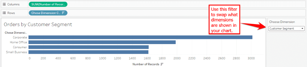 How to Set Parameters in Tableau