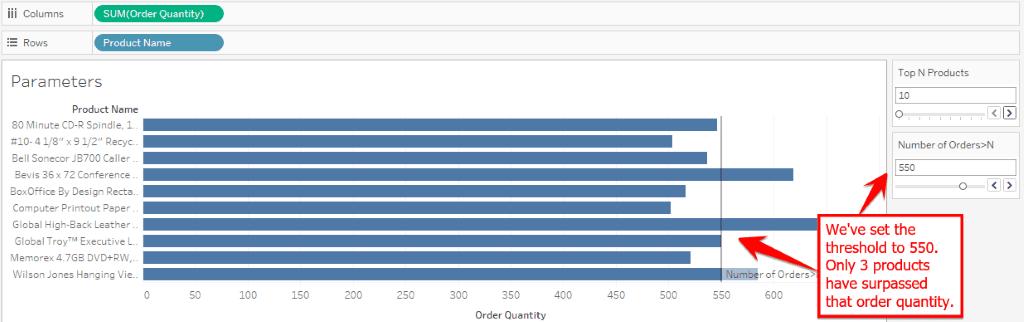 Parameters Tutorial in Tableau
