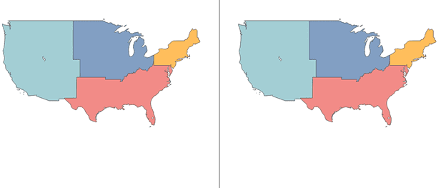 Adding a Symbol Map in Dual Axis Map Tableau